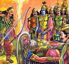 Bhishma+Pitamah+on+a+Bed+of+Arrows.jpg